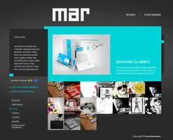 portfolio template by mariannizmo