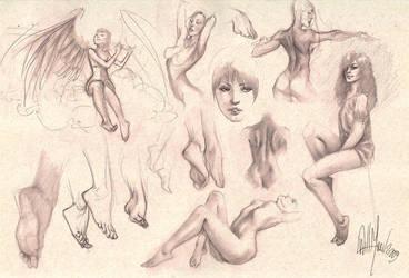 Sketches by whmurai
