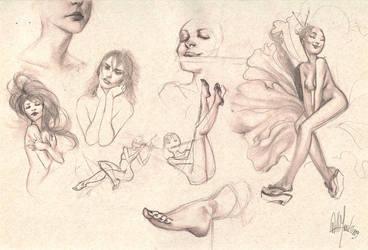 Sketches 2 by whmurai