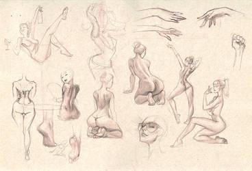 Sketches 3 by whmurai