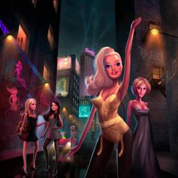 Barbie at GQ UK 2 by whmurai