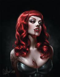 Vampire by whmurai