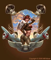 W.E.I.R.D.O. AIRFORCE by whmurai
