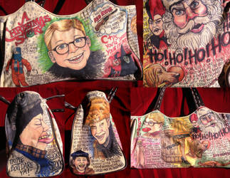 Doodle Bag A Christmas Story by whyamitheconvict