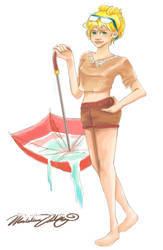 Cal Girl by littlebookie