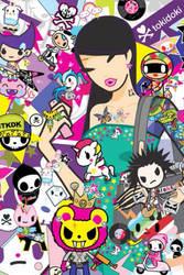 TokiDoki iPhone Wallpaper 3 by KawaiiSwwagg