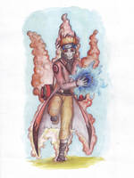 Uzumaki Naruto Bijuu-Mode by TheLastParanoid