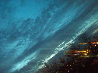Night blue by Linnoleum