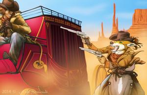The Great Stagecoach Robbery by HoshiKitsunuki