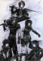 Final Fantasy x Kingdom Hearts by XionCloudHeaven