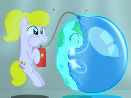 Between a bubble and a soft place by BladeDragoon7575