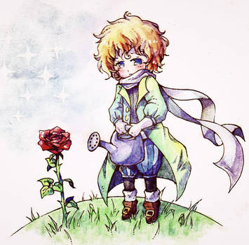 The Little Prince by Geexy-Thingie