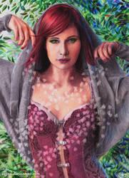The Druidess by eajna