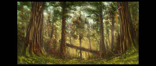 mystic forest 2 by slizgi