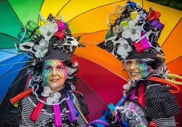 Rainbow ladies - Fotofair Beekse Bergen 2018 by Duena