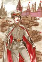 Starshina Yezhov by Soviet-Superwoman