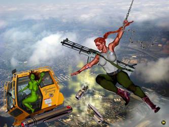 Connie's Wild Ride, part two by Soviet-Superwoman