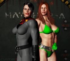 Kickass Couple by Soviet-Superwoman
