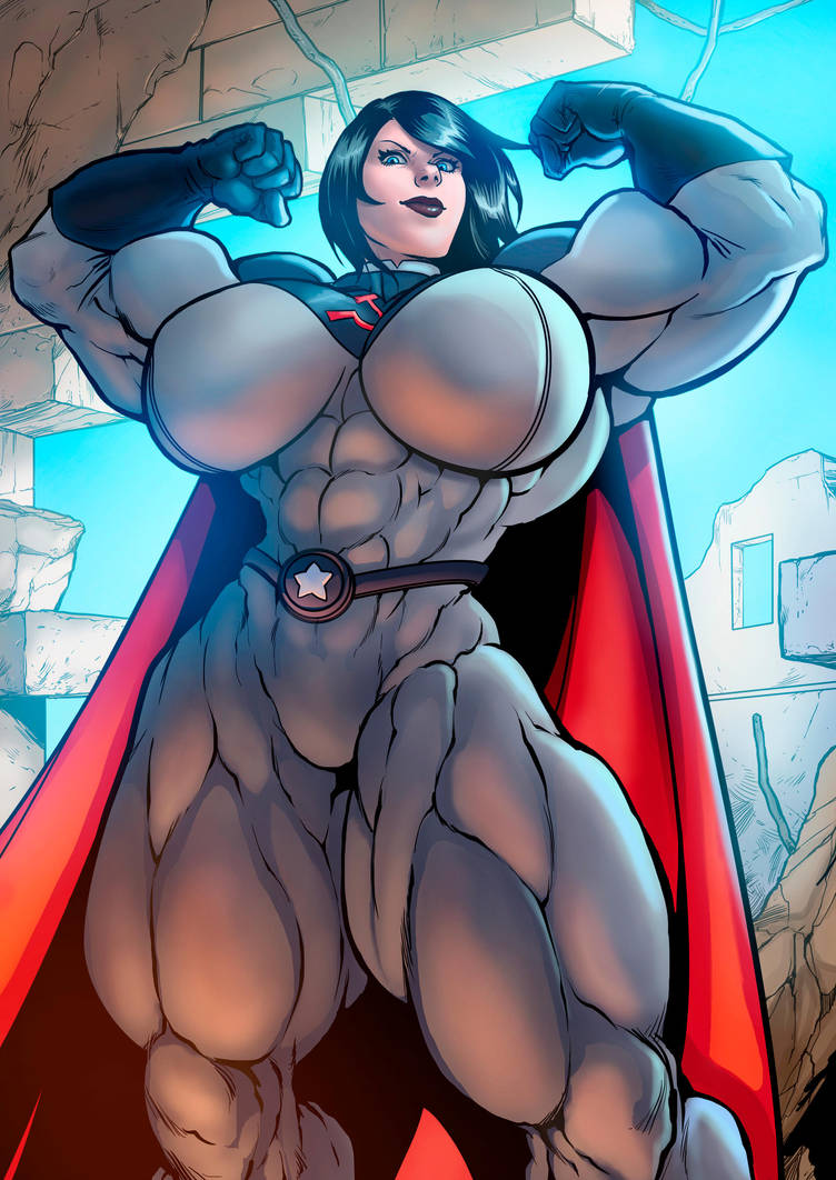 The Superwoman Exists, and She's Soviet! by Soviet-Superwoman