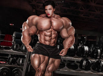 Soviet Superwoman, Going Massive AND Topless by Soviet-Superwoman