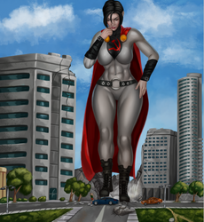 Skyscraper Soviet Superwoman by Soviet-Superwoman