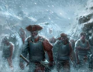 Force march Warhammer card by LASAHIDO