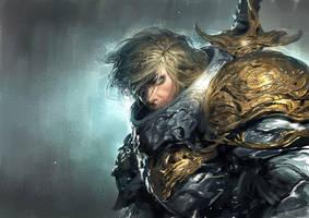 Sword guy by LASAHIDO
