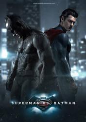 Superman Vs Batman by LASAHIDO