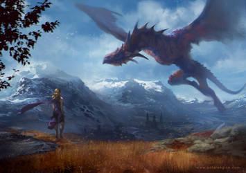 Mother of Dragon by LASAHIDO