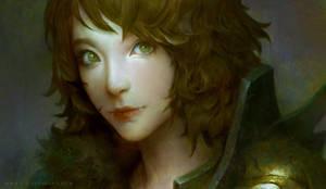 Female Warrior by LASAHIDO