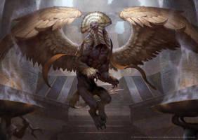 Sphinx by LASAHIDO