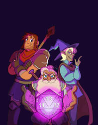 The Adventure Zone by neofeliss