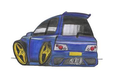 Renault Clio 16V by nizdesign