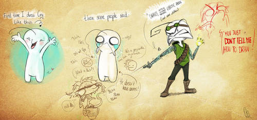 That's how I draw Cryaotic by ScribbleNetty