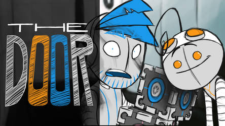The door - Bromation with Pewds and Cry-Portal2 by ScribbleNetty