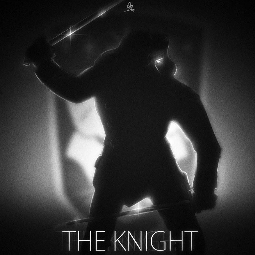 Silhouette scribble - The Knight by ScribbleNetty