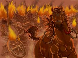 War Horse by MinazukiShiro