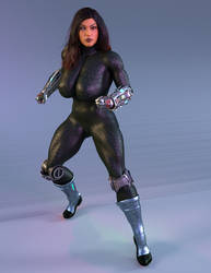Ciborg Latina 3 by Mr-Marcus-81