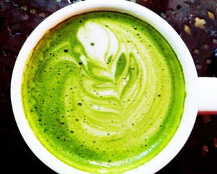 green leaf latte by spotted