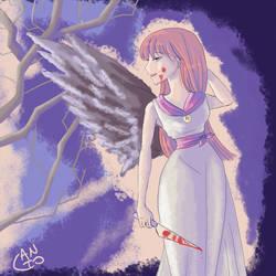 Black angel by antoZ