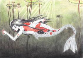 Koi Mermaid by SaraL0UISE
