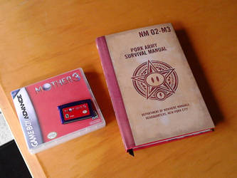 Mother 3 GBA + Fangamer Handbook by Hylian