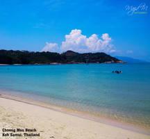 Choeng Mon Beach by meanart