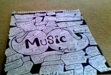 My favortie Music Lyrics by Bubblegumartt