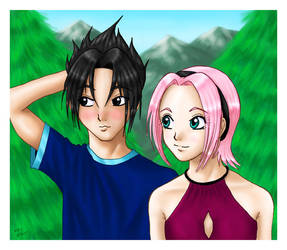 SasuSaku by mrc