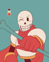 The GRRRRRReat Papyrus by The-NoiseMaker