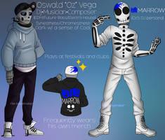 Oz (Skeleton OC) by The-NoiseMaker