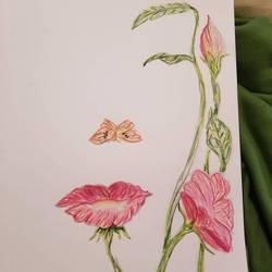 Flower Face by penguinlove7