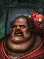 Bloaty The Pizza Hog by DamienSaelak