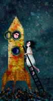 Goodbye, my space-boy love by meluseena